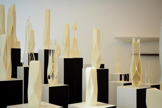 The studio of Zaha Hadid Architects.