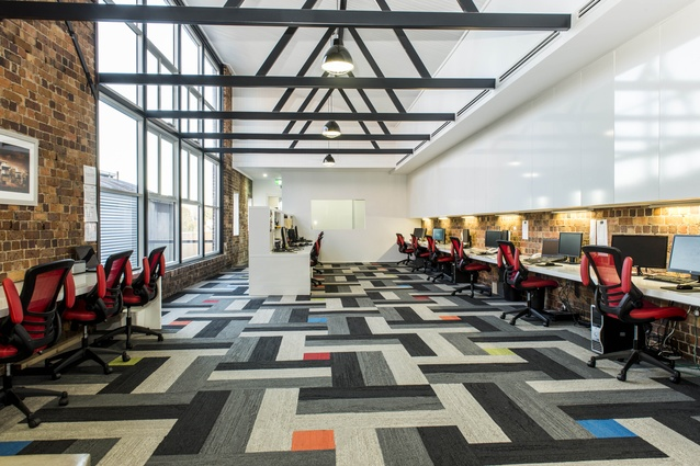 SABA Building by Aspect Architects and Project Managers.