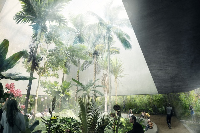 The Ian Potter National Conservatory by  by CHROFI, McGregor Coxall and Atelier Ten.