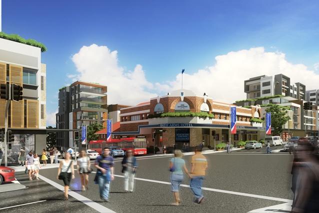 The Parramatta Road Corridor Urban Transformation Strategy.