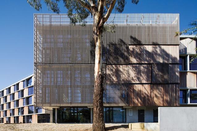 Monash University Student Accommodation by BVN Architecture.