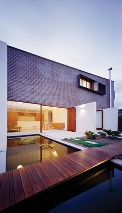 Five Dock, Sydney, NSW: The material possibilities of brick are explored in the Five Dock House, with the crisp, smooth, brick container accentuating its succinct suburban form.