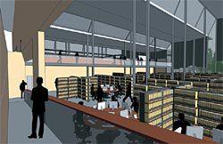 Stutchbury & Pape's winning scheme for the Learning Commons, Charles Sturt University, Albury-Wodonga.