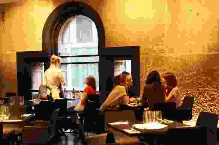 The restaurant headlines the area.