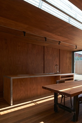 Edward Street House by Sean Godsell Architects.