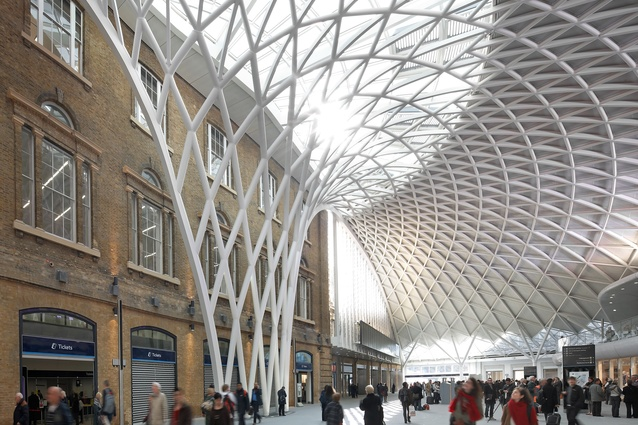 Kings Cross Station redevelopment by John McAslan and Partners.