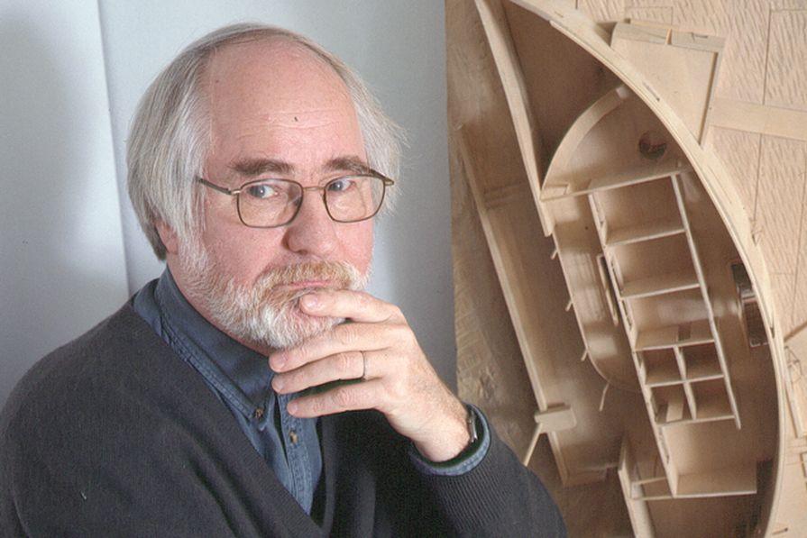 Architects and theorist Juhani Pallasmaa.