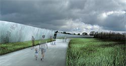 Denton Corker Marshall's design for the new visitor and interpretation centre for Stonehenge, UK, has just received planning permission.
