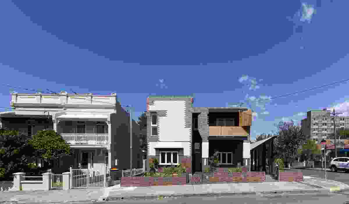 3 Houses Marrickville by David Boyle Architect.
