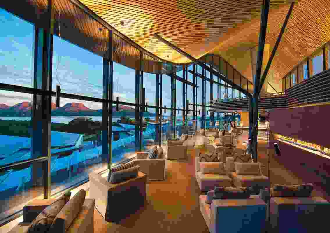 Hospitality Design – Saffire Freycinet by Chada with Circa Morris-Nunn Walker.