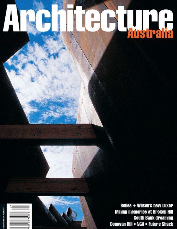 Architecture Australia, September 2001