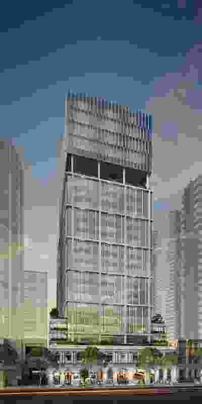 Midtown Centre by Fender Katsalidis.