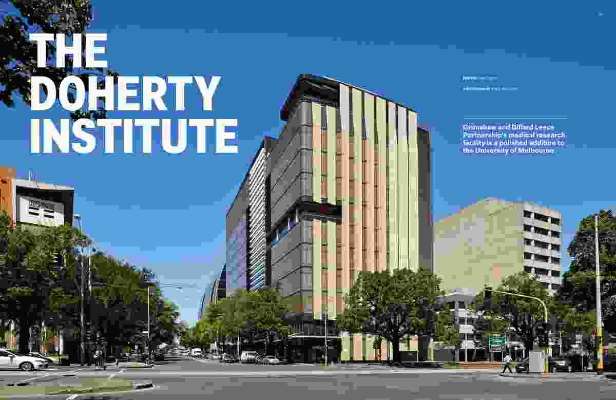 The Doherty Institute by Grimshaw and Billard Leece Partnership.