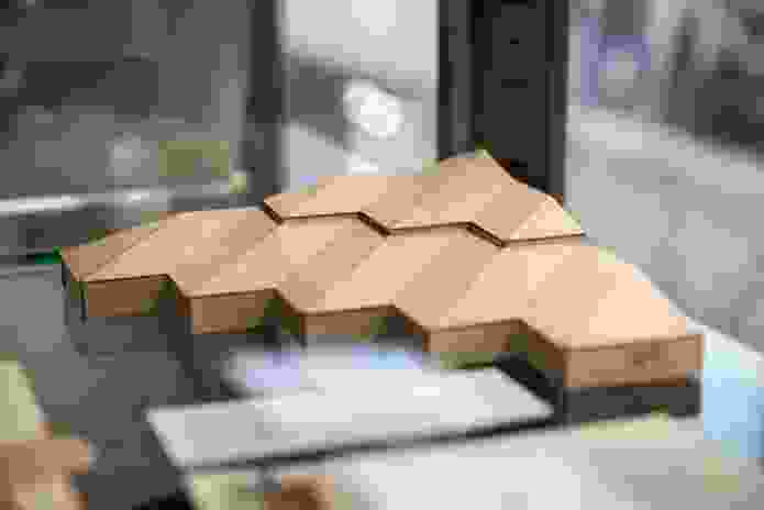 Architectural model at Dickson and Platten Architects: 1950-2000.