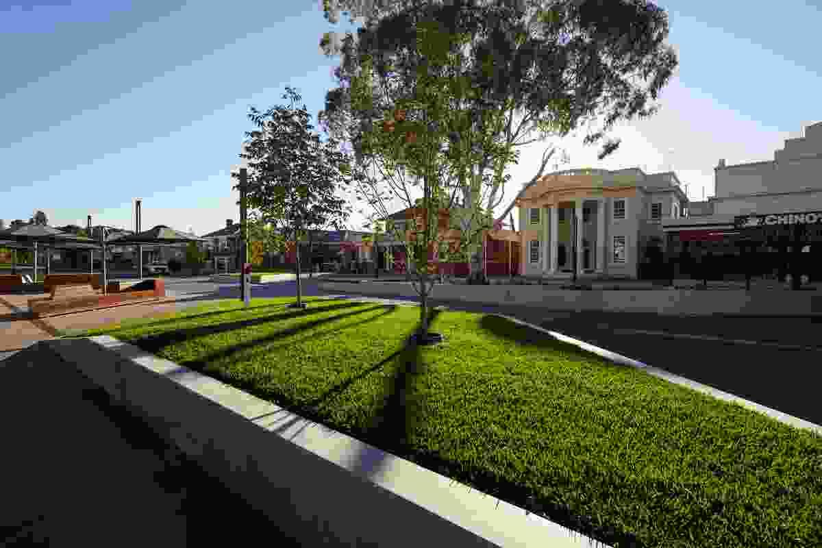 Victoria Square, Kerang by Hansen Partnership.