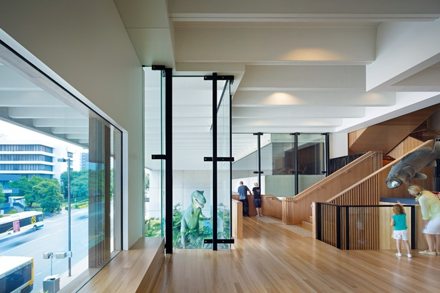 Queensland Museum Refurbishment by Cox Rayner Architects