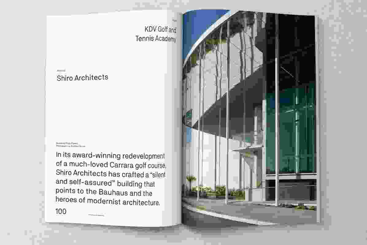 KDV Golf and Tennis Academy designed by Shiro Architects.