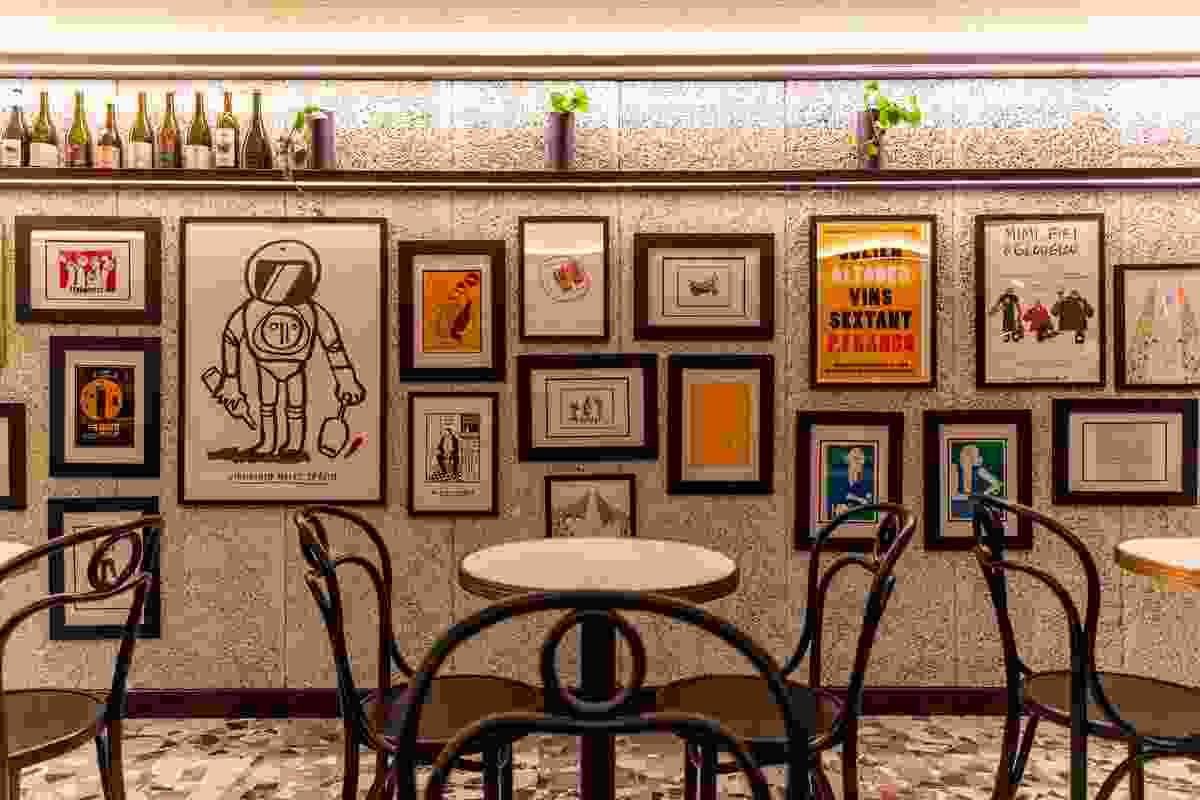 Leigh Street Wine Room by Studio Gram.
