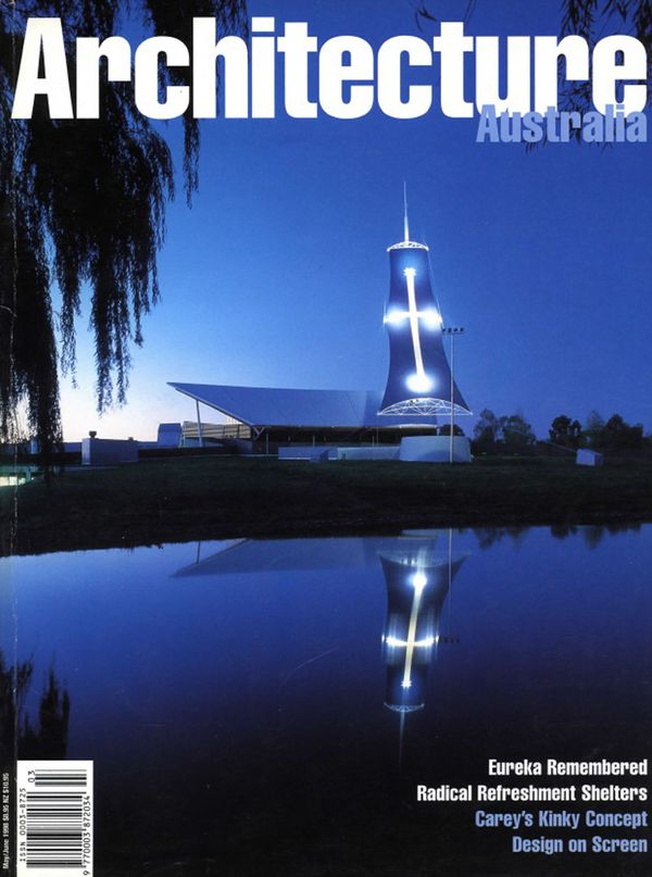 Architecture Australia, May 1998