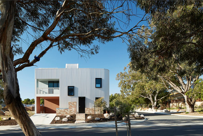 Gen Y Demonstration Housing by David Barr Architects.