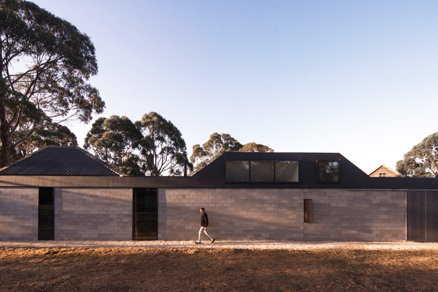 Lagoon House (Tas) by Taylor and Hinds Architects.