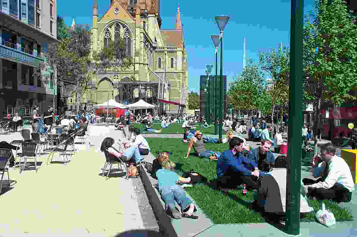 Work – Melbourne City Square by City of Melbourne