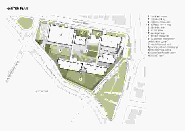 The Inner City South State Secondary College masterplan by BVN.