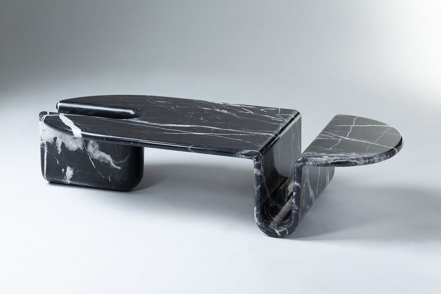 Bonnie and Clyde table by DOOQ.