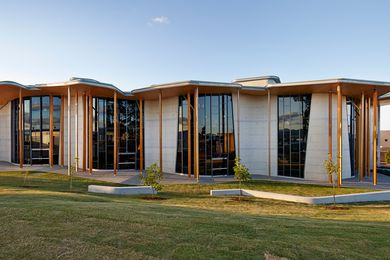 Abedian School of Architecture by CRAB Studio.