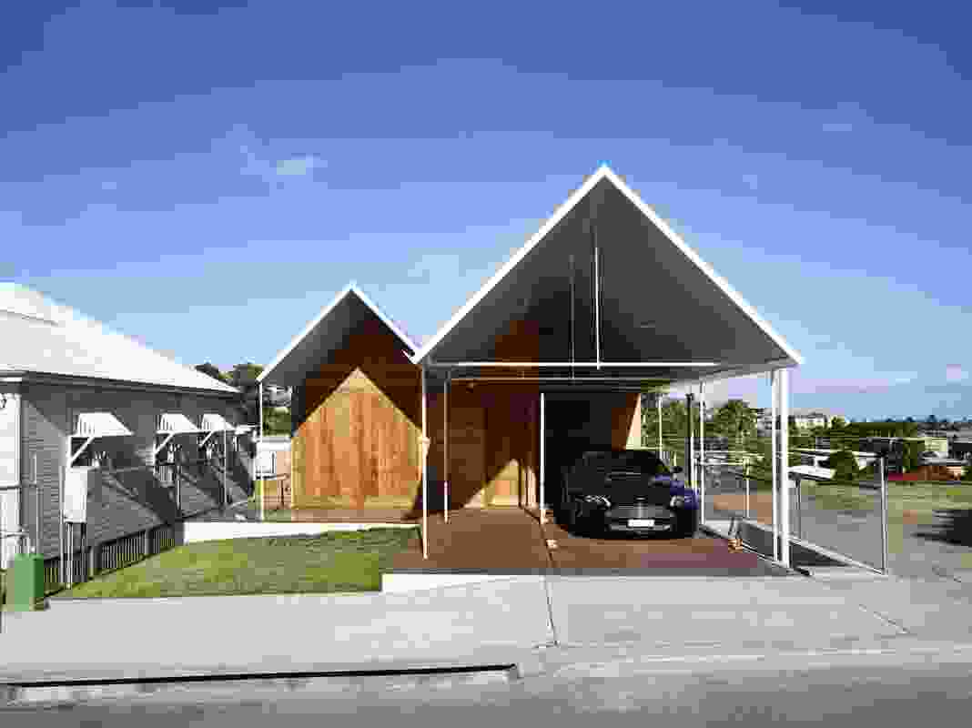 Christian Street House by James Russell Architect.