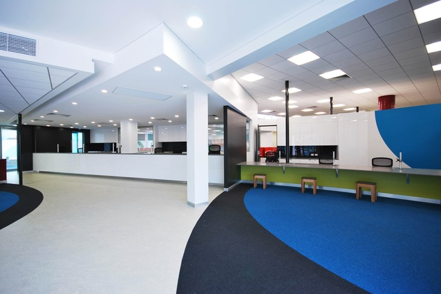 Commercial Commendation: Toowoomba Regional Council Customer Service Centre by OPUS Architecture.