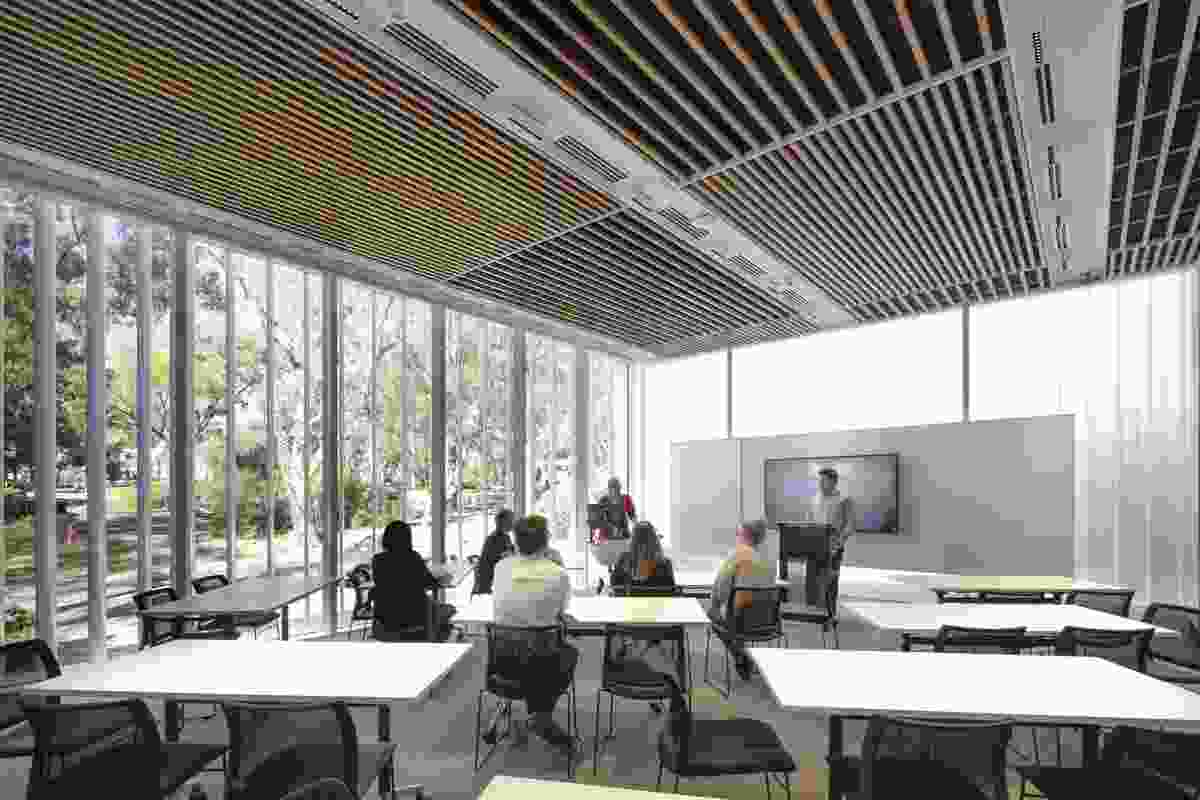 ANU College of Law by Guida Moseley Brown Architects.