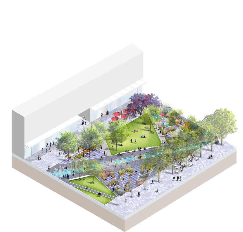 Draft Concept Design For Parramatta Square Public Domain