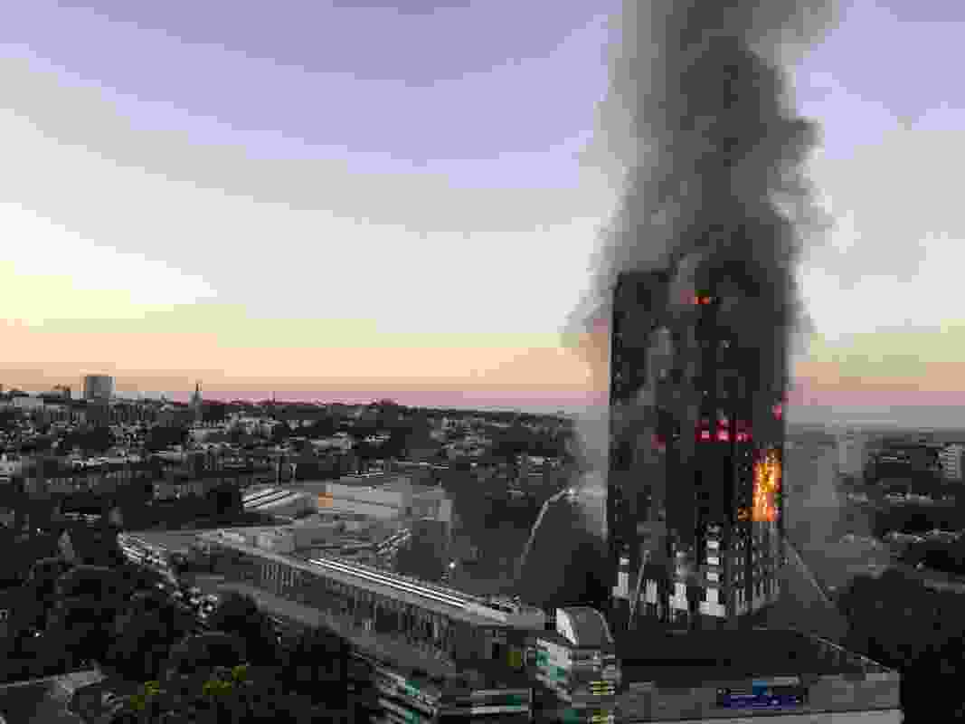 Flammable cladding is thought to have contributed to the spread of the fire at the Grenfell tower in London.