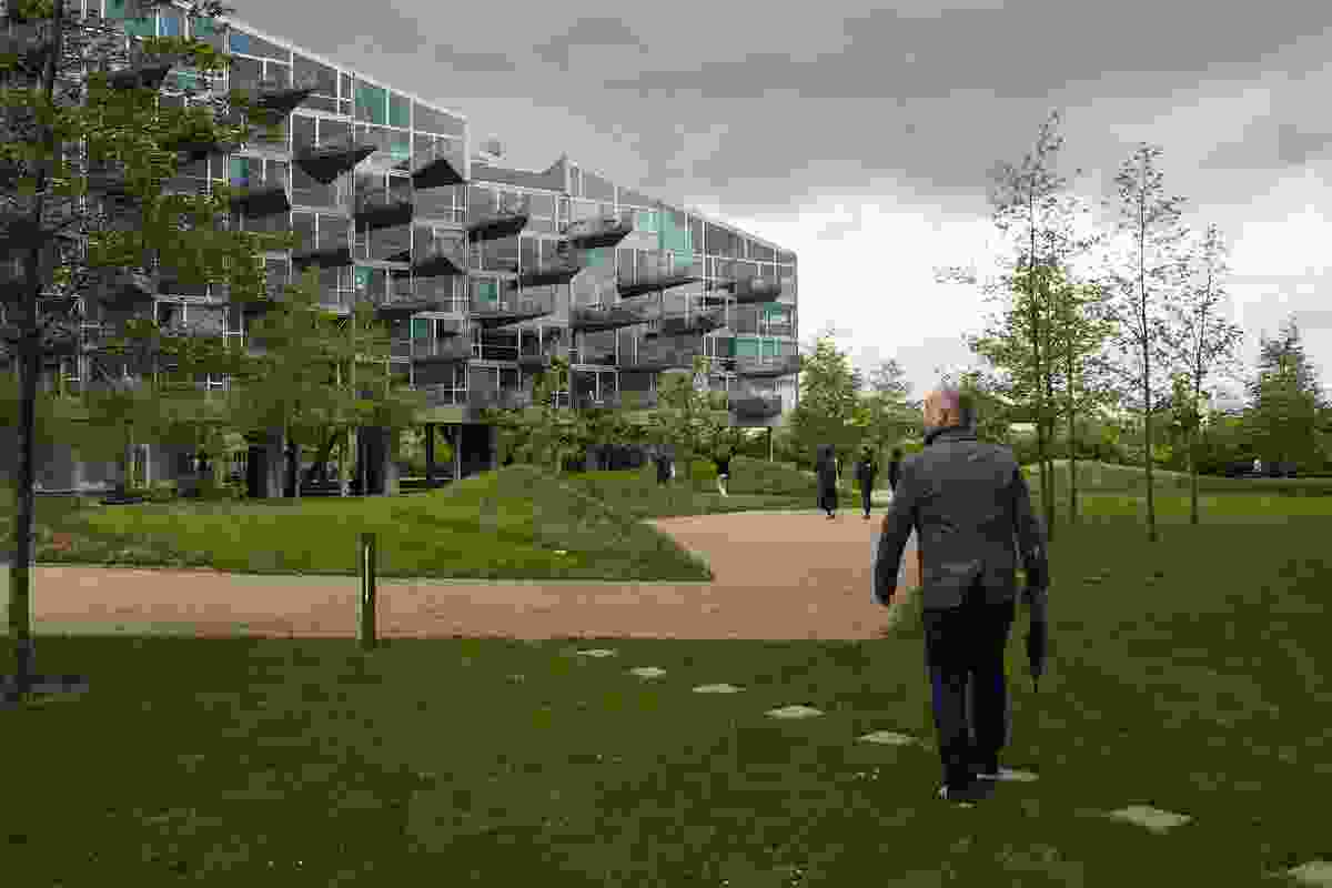 VM Houses by Bjarke Ingels Group and JDS Architects, Ørestad, Copenhagen (2005).