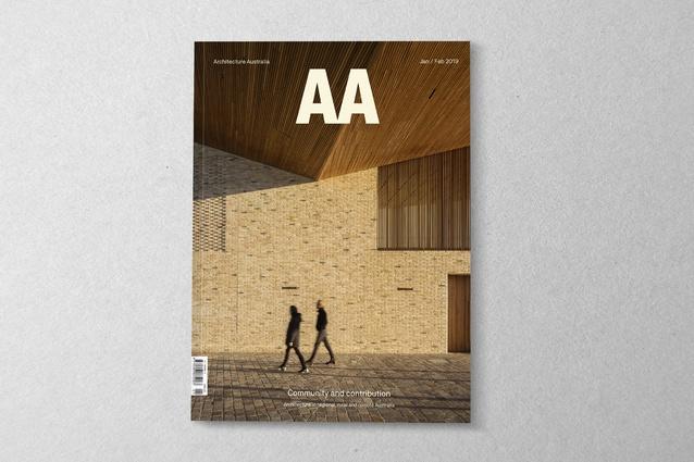<i>Architecture Australia</i> January/February 2019.