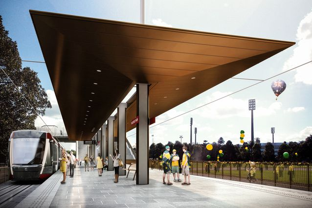 Tiny Home Designs: Grimshaw Designs Light Rail Stations For Sydney's CBD And