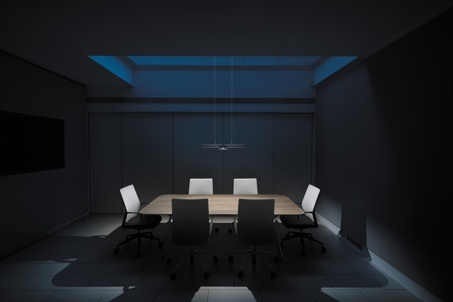 The Cu-Beam is suitable for meeting spaces.