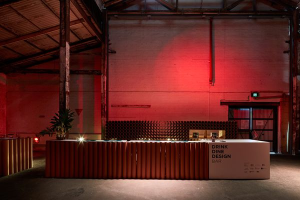 Drink Dine Design Bar by Grieve Gillett Andersen and Jam Factory.