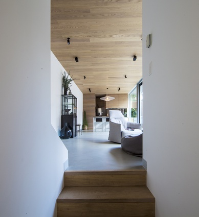 Skin Box House by Man Architects.