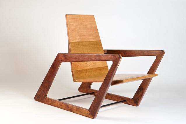 Pat Spratt chair by David Cummins.