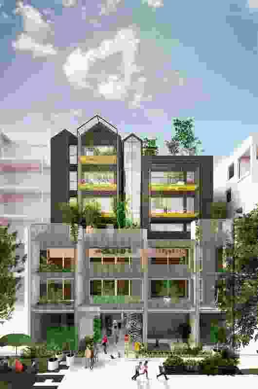 Nightingale Village at 8-10 Duckett Street by Austin Maynard Architects.