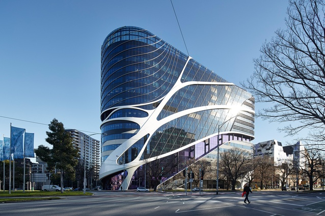 Victorian Comprehensive Cancer Centre by Silver Thomas Hanley, DesignInc and McBride Charles Ryan.