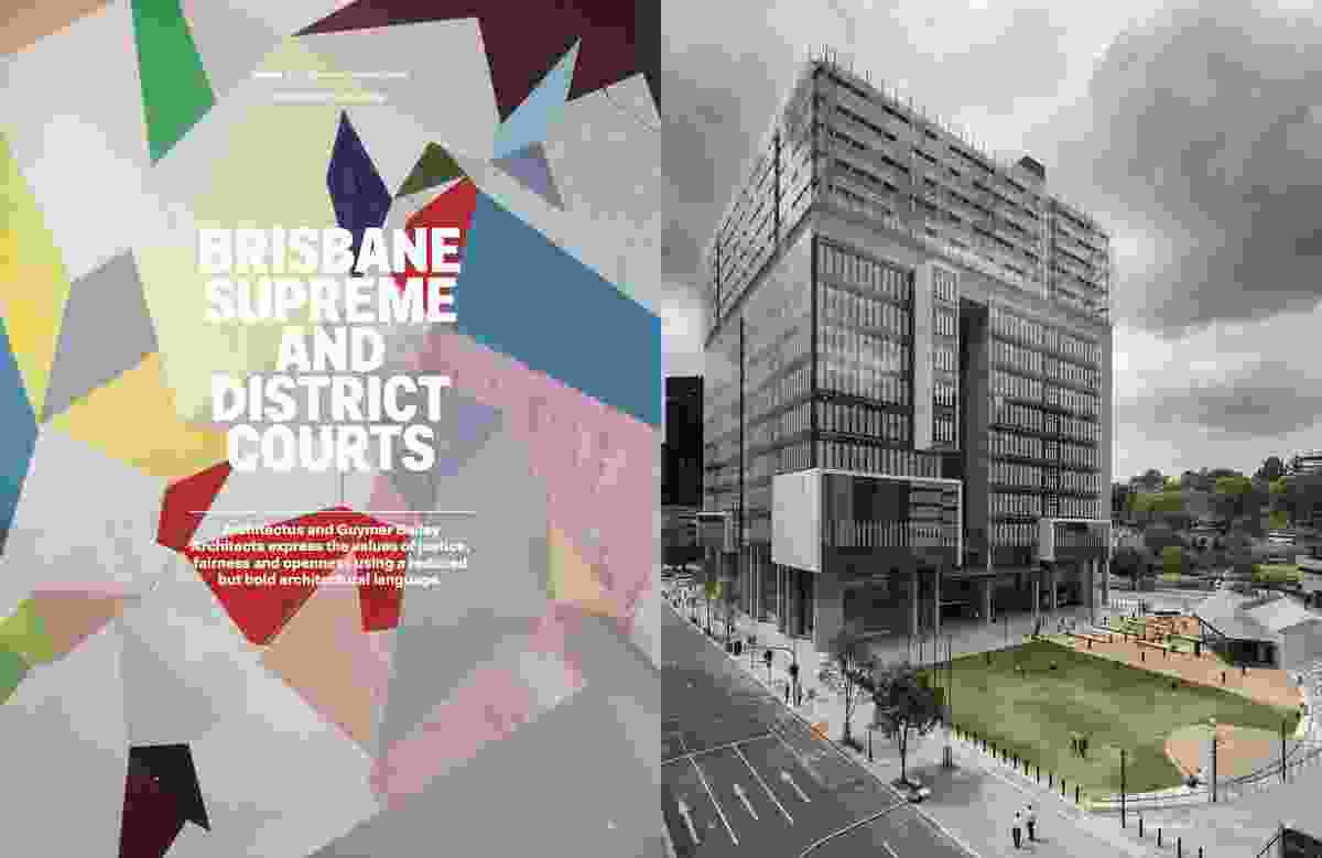 Brisbane Supreme and District Courts by Architectus and Guymer Bailey.