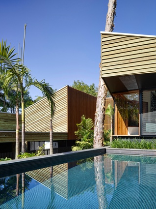 Chapel Hill House by Reddog Architects.