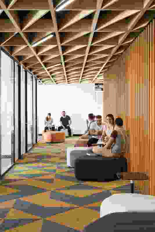 1 Parramatta Square by Architectus, interiors by Woods Bagot.