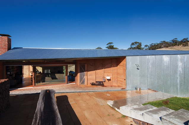 Each summer, John Wardle Architects staff visit to do landcare projects.
