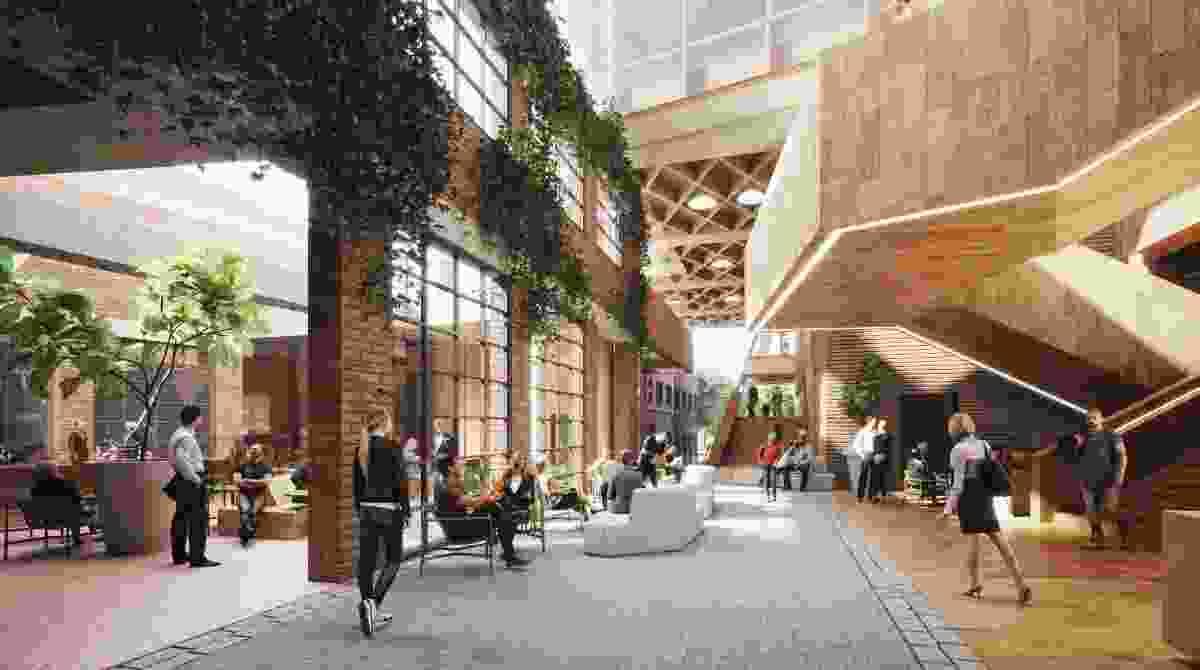 Melbourne Business School by Woods Bagot.