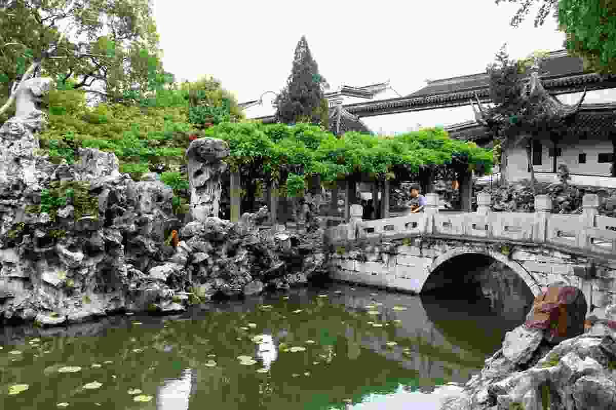 Lion Grove Garden, an example of a classical Chinese garden in Suzhou.
