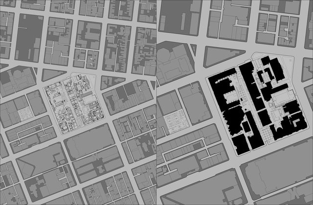 Plan Of RMIT University In Episodic Urbanism Urban Spaces Project 1996 2015 Published By Uro Publications